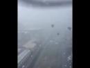 Генуя, мост с вертолета