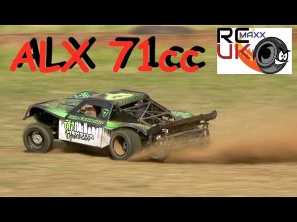 ALX SUPER 71cc MALOSSI 4wd Losi 5t DRIFT KING!