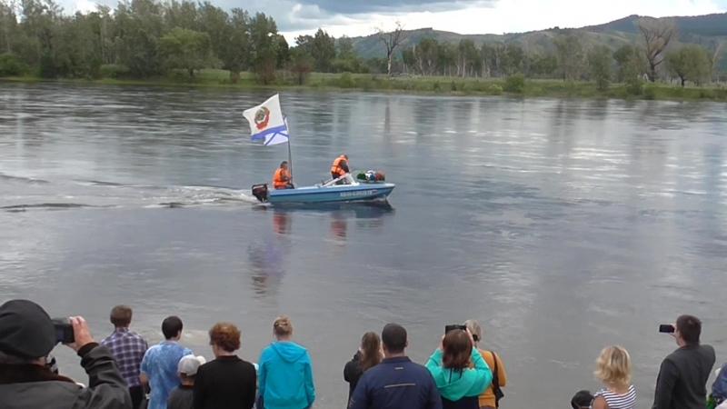 Празднование дня ВМФ в г. Саяногорске Хакасия