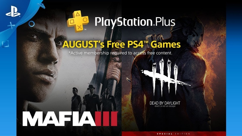 PlayStation Plus Free PS4 Games Lineup August 2018