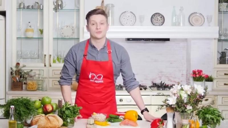 Рецепты на 8 марта_ роллы с лососем, лазанья и яблочное парфе с карамелью [Рецеп