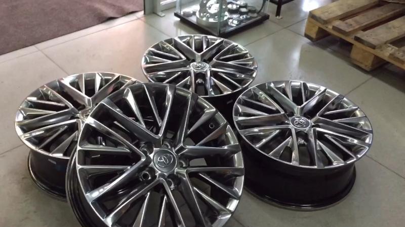 Новые Диски Toyota/Lexus 7x17; 5x114,3; ET35 По покупке : 📲8-983-386-9588 ✏️Вотсап/Вайбер camry toyota lexus