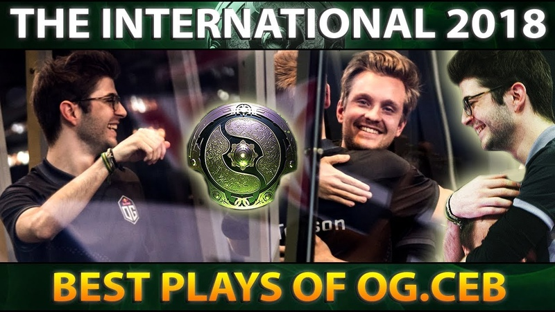 From Coach to TI8 Champion - OG.CEB Best Plays The International 2018 - Dota 2 TI8