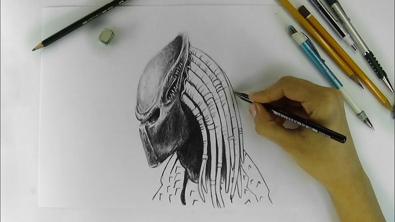 ART Drawing pencils PREDATOR art basel