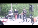 не большой рок концерт в Мытищинском парке