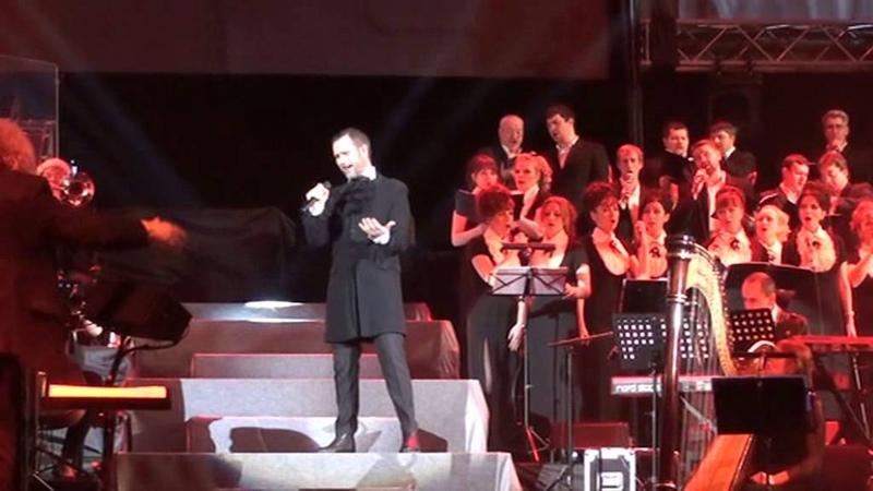 Solal - Quand le rideau tombe (Mozart l'Opera Rock le Concert)