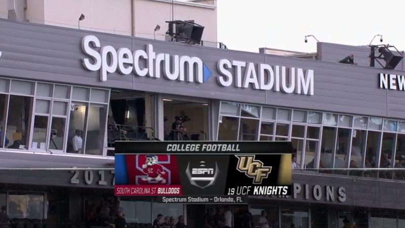 NCAAF 2018 / Week 02 / SC State Bulldogs - (19) UCF Knights / EN