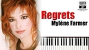 Mylene Farmer - Regrets Piano Cover