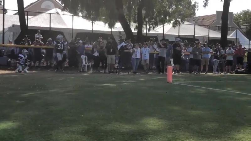 Byron vs Tavon Round 4 CowboysCamp Day 6