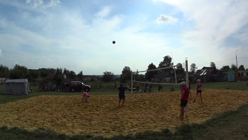Игра 9 Пляжный волейбол - закрытие сезона микст Новосиль 2018/09/15