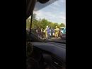 Авария возле Технопарка. Саранск.