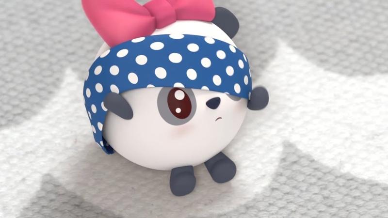 Малышарики Новая серия Силачи Серия 121 Развивающие мультики для самых маленьких