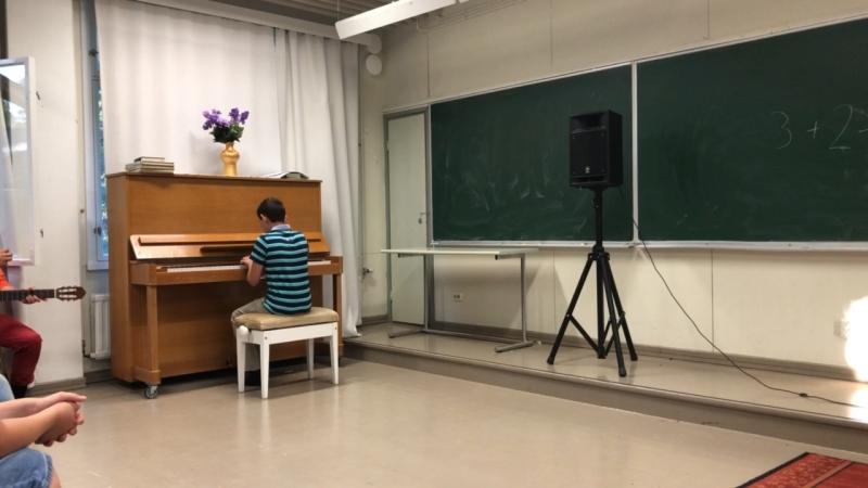 Выступление Матвея 5 смена Wow-fi Финляндия