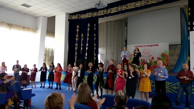 Открытие фестиваля Солнце в ладонях 2018