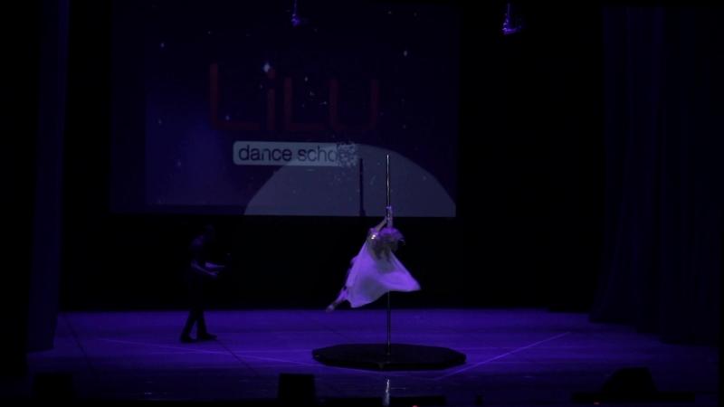 Pole Dance Солодунова Анастасия Отчетный концерт Школы танцев LiLU 27 мая 2018