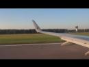 Взлет ✈ Боинг 737 VQ-BSS Барнаул.