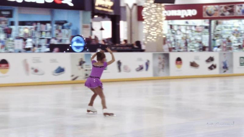 Элина Бобова Олимпийские Надежды 20180518 Ice RIO Orion G Novichok 3