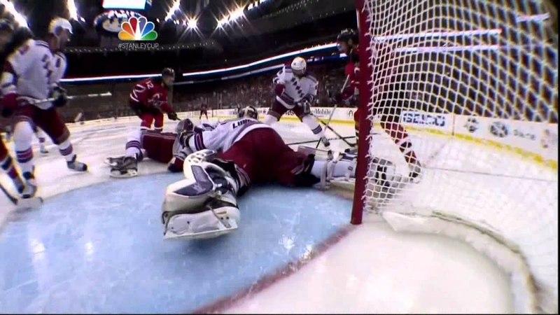Henrique OT goal, handshakes. NY Rangers vs New Jersey Devils Game 6 5/25/12 NHL Hockey