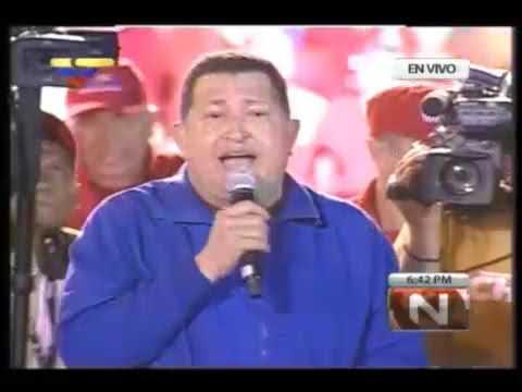 Chávez invicto: ¡Si quieren Patria voten por Chávez!