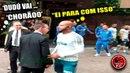 FELIPE MELO desce do busão p/ tirar satisfação com torcedor do Palmeiras que criticava Dudú