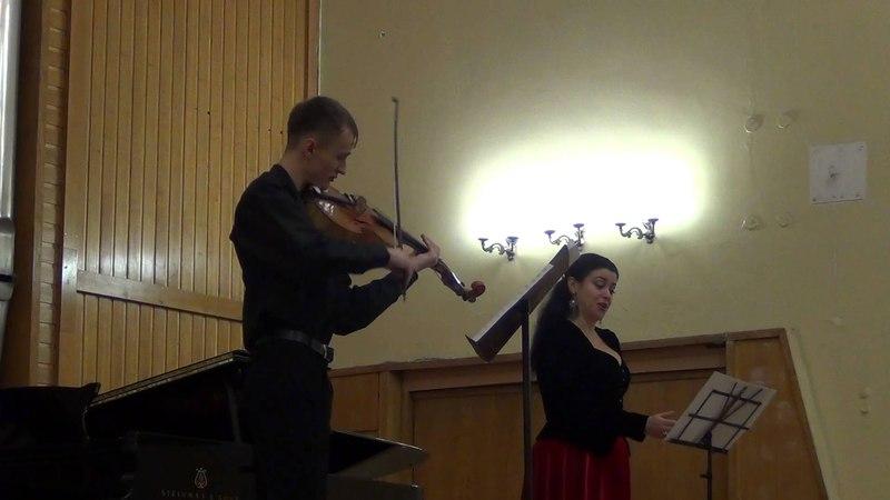 Юрий Мазченко - Счастье, когда ты рядом. Триптих для меццо-сопрано и виоль д'амур (ч. III)