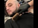 Придание контура. Окрашивание бороды