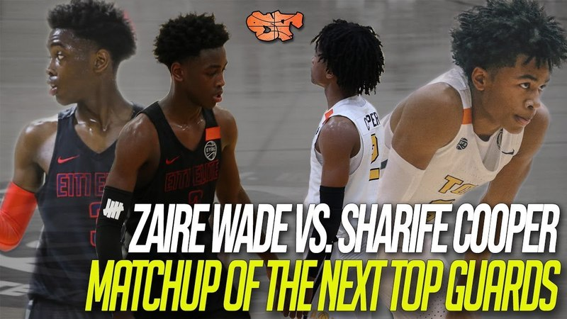 ZAIRE WADE vs. SHARIFE COOPER | MATCHUP of the NEXT TOP GUARDS