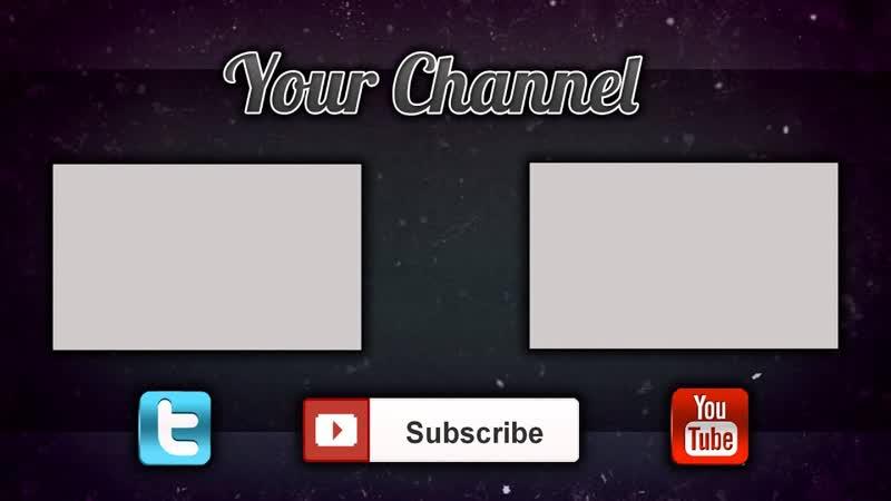 Как сделать конечную заставку для видео на YouTube