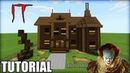 Minecraft: How To Make Pennywise House IT House Minecraft