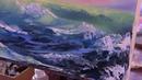 Волна, море, морской пейзаж, научиться рисовать море, Художник Игорь Сахаров