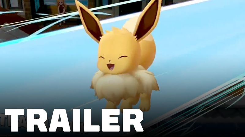 Pokemon Let's Go Pikachu Eevee: New Features Moves Trailer - TGS 2018