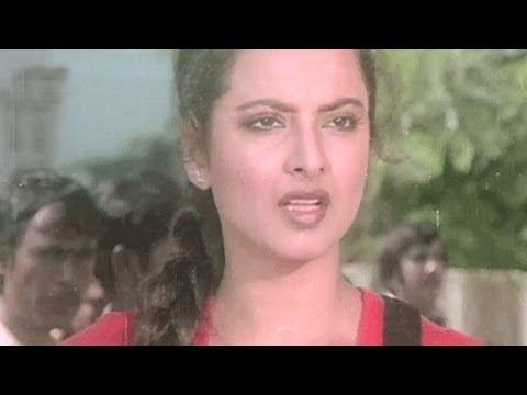 Rekha, Amjad Khan, Bindiya Chamkegi - Scene 2/10