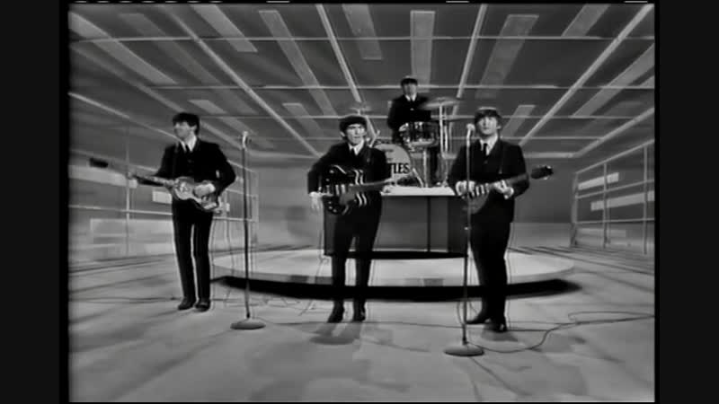The Beatles - I Want To Hold Your Hand - Performed Live On The Ed Sullivan Show 2_⁄9_⁄64