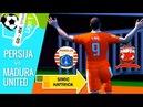 Persija vs Madura United | Liga 1 Gojek Indonesia | Simic Hatrrick | PES 2017 HD