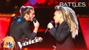 Cody Ray Raymond Battles SandyRedd to Solomon Burke's Cry to Me - The Voice 2018 Battles
