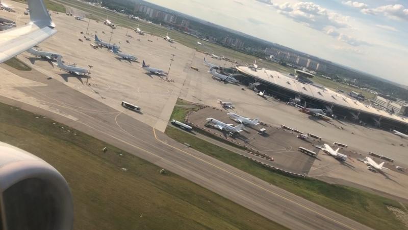 Boeing 737 utair take off