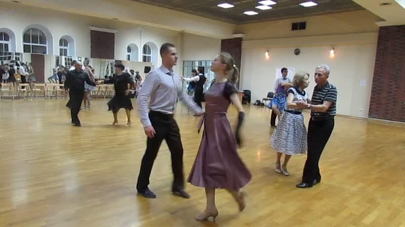 Бальные танцы Блок 1 вид 2124