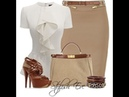 COMBINACIONES FORMALES PARA DAMAS ELEGANTES | FORMAL COMBINATIONS FOR ELEGANT LADIES