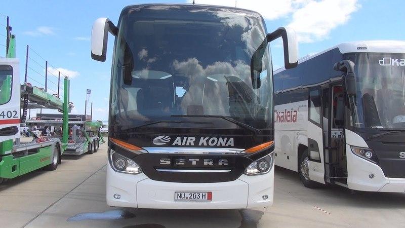 Setra TopClass S 517 HDH Bus (2016) Exterior and Interior
