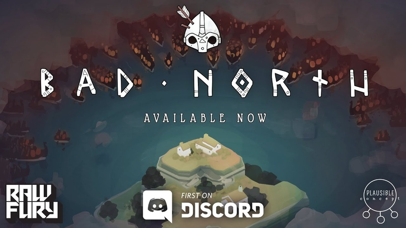 Bad North - Available Now on Discord