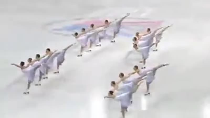 Шокирует координация этой хореографии для катания на коньках
