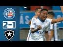Bahia 2 x 1 Botafogo - Melhores Momentos (HD) - Copa Sul Americana 2018