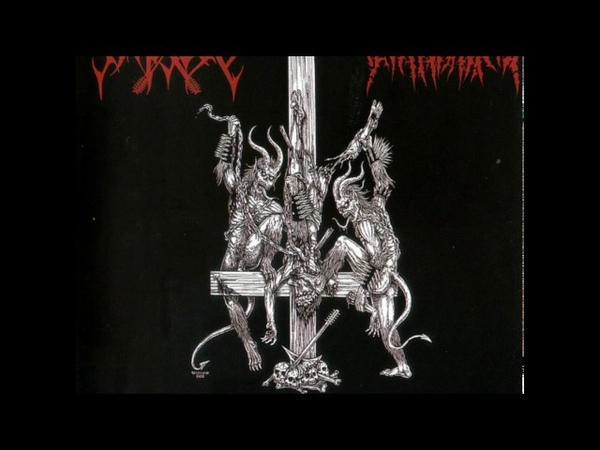 Abhorrence / Impiety - Two Barbarians - A Vulgar Abomination of Satan's Intolerant Warlords