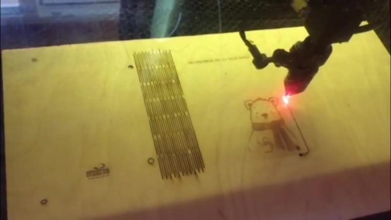 процесс изготовления деревянного гибкого блокнота целиком