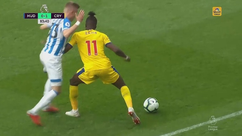 Wilfried Zaha vs HUD (Super Solo Goal) 2018/19 HD 1080i 15/09/2018