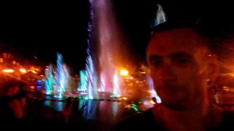 Туапсе поющие фонтаны