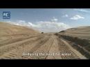 Строительство дороги через самую крупную пустыню Китая!