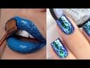New Lipstick and Nail Art Tutorials 2018 l Best Ideas on Instagram