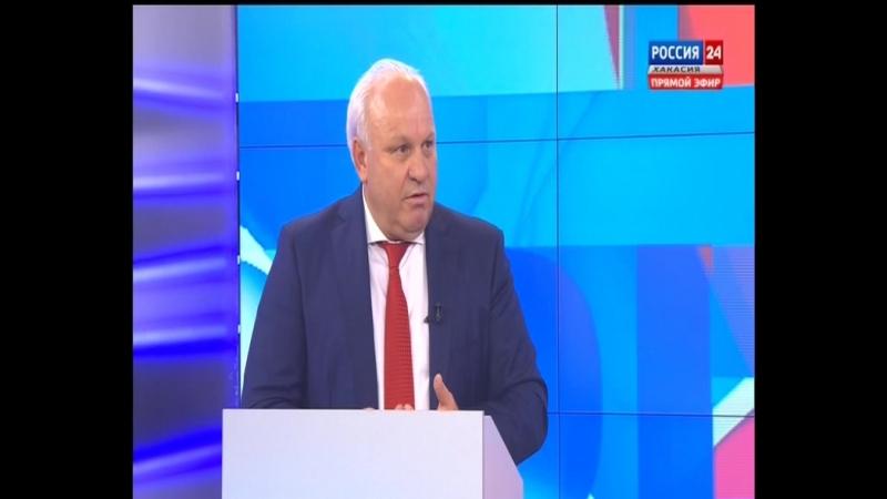 Дебаты Зимин vs Коновалов в 19 09 2018 Республика Хакасия прямой эфир