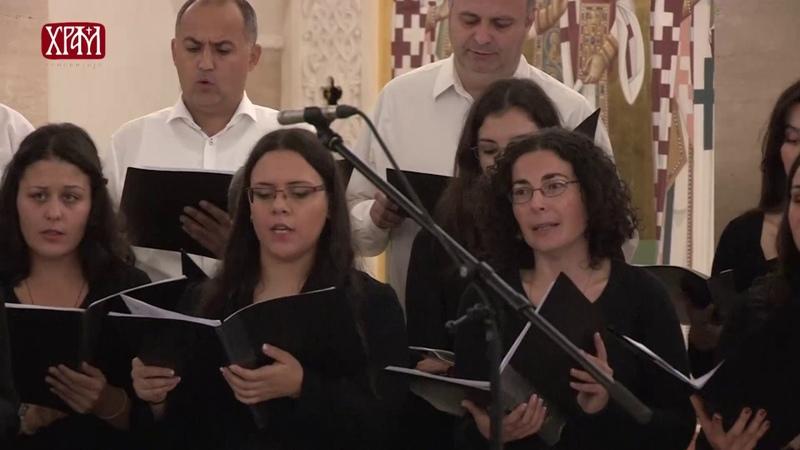 Концерт мати Јулијаније Денисове у крипти Храма Светог Саве